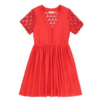 La Petite Française Escale Embellished Back Dress-listing