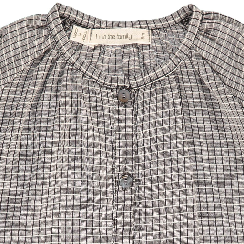 Thais Long Sleeve Checked Blouse-product
