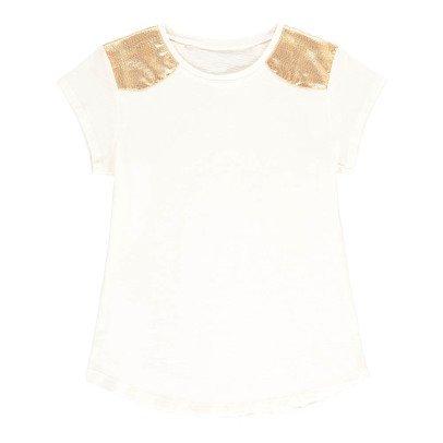 Louis Louise Camiseta Rayas Hombros Dorados Anais-listing