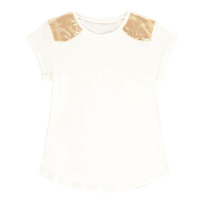Louis Louise T-shirt Spalle dorate-listing