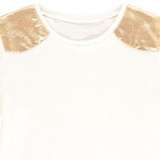 Louis Louise Anaïs Gold Shoulder T-Shirt-listing