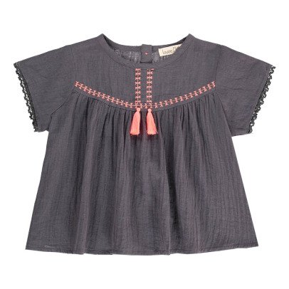Louise Misha Daisy Linen and Cotton Blouse-product