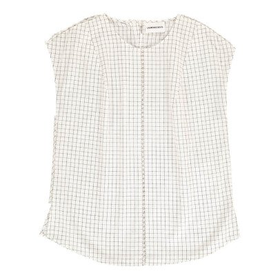 Laurence Bras Cornichon Checked Top-listing