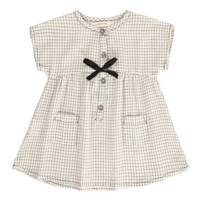 1+ IN THE FAMILY Robe Carreaux Olivia-listing