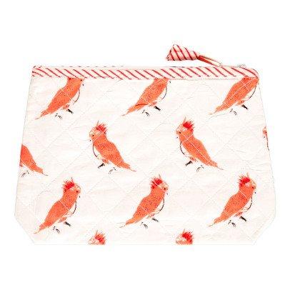 Le Petit Lucas du Tertre Neceser de baño pájaros rosas-listing