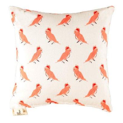 Le Petit Lucas du Tertre Cojín pájaros rosas-listing