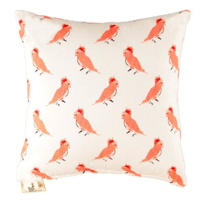 Le Petit Lucas du Tertre Cuscino uccellini rosa-listing