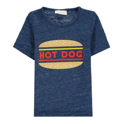 Simple Kids Hot Dog T-Shirt with Marl-listing