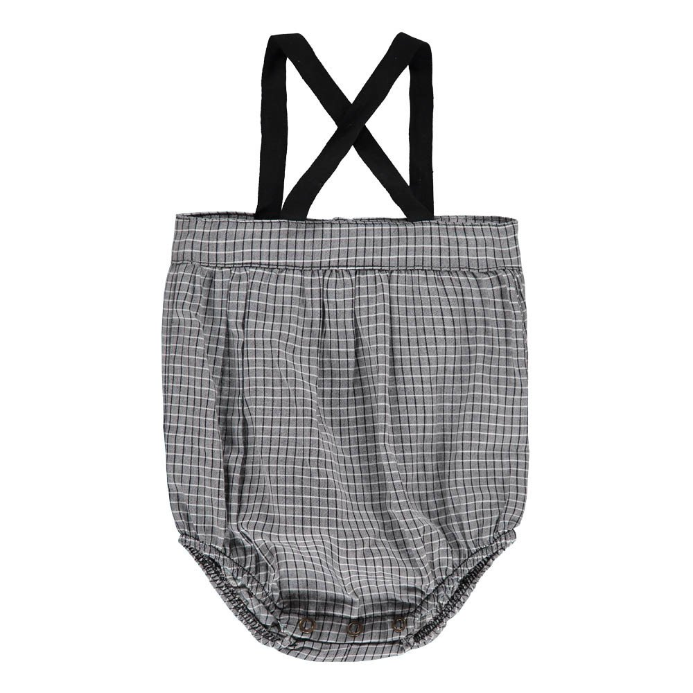1+ IN THE FAMILY Simone Checked Romper-product