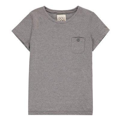 Douuod T-Shirt Poche Titolo-listing