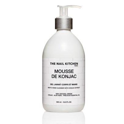 The Nail Kitchen Konjakmousse Reinigungsgel Hände & Körper 100% natürlich 500 ml-listing