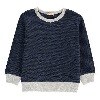De Cavana Two-Tone Sweatshirt-listing