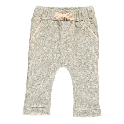 Blune Kids Gold Mine Lurex Quilted Harem Trousers-product