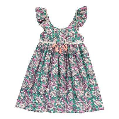Louise Misha Vestido Flores Baya-listing