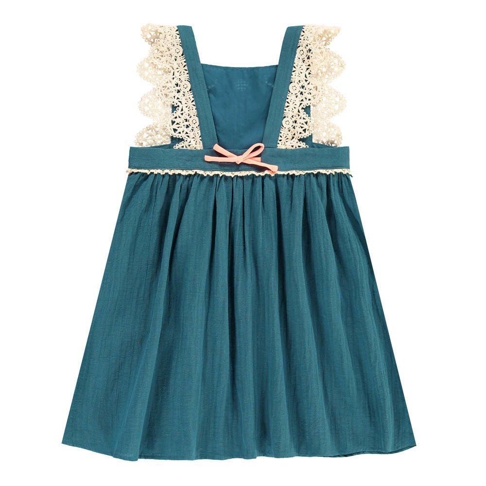 Louise Misha Celia Embroidered Pinafore Dress-product