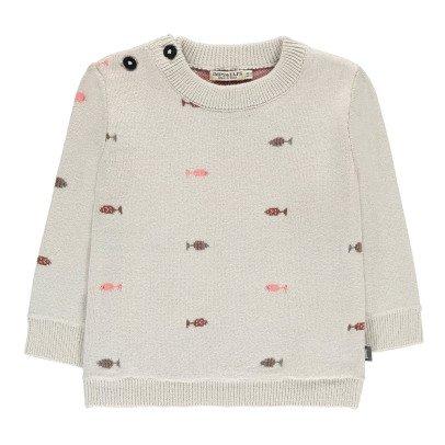 Imps & Elfs Pullover Fisch aus Bio-Baumwolle -listing