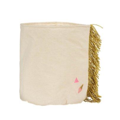 Scalaë Cesto con frange Limone-listing