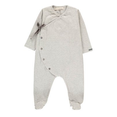 1+ IN THE FAMILY Adan Striped Fine Footed Pyjamas-listing