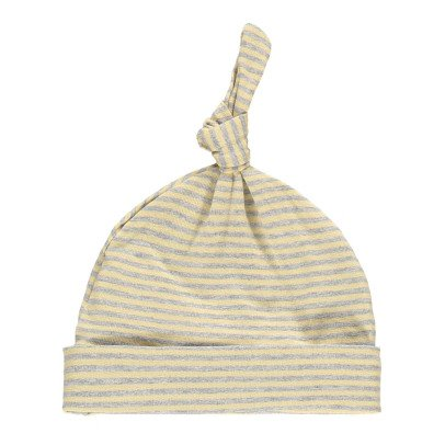 1+ IN THE FAMILY Fina Striped Fine Bow Bonnet-listing