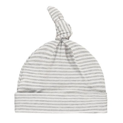 1+ IN THE FAMILY Fina Striped Fine Bow Bonnet-product