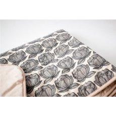 Moumout Manta acolchada en algodón Peonías-listing