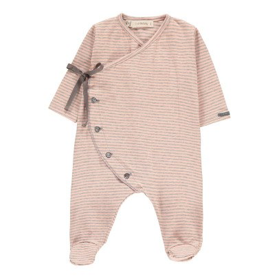 1+ IN THE FAMILY Pyjama Pieds Fines Rayures Adan-listing
