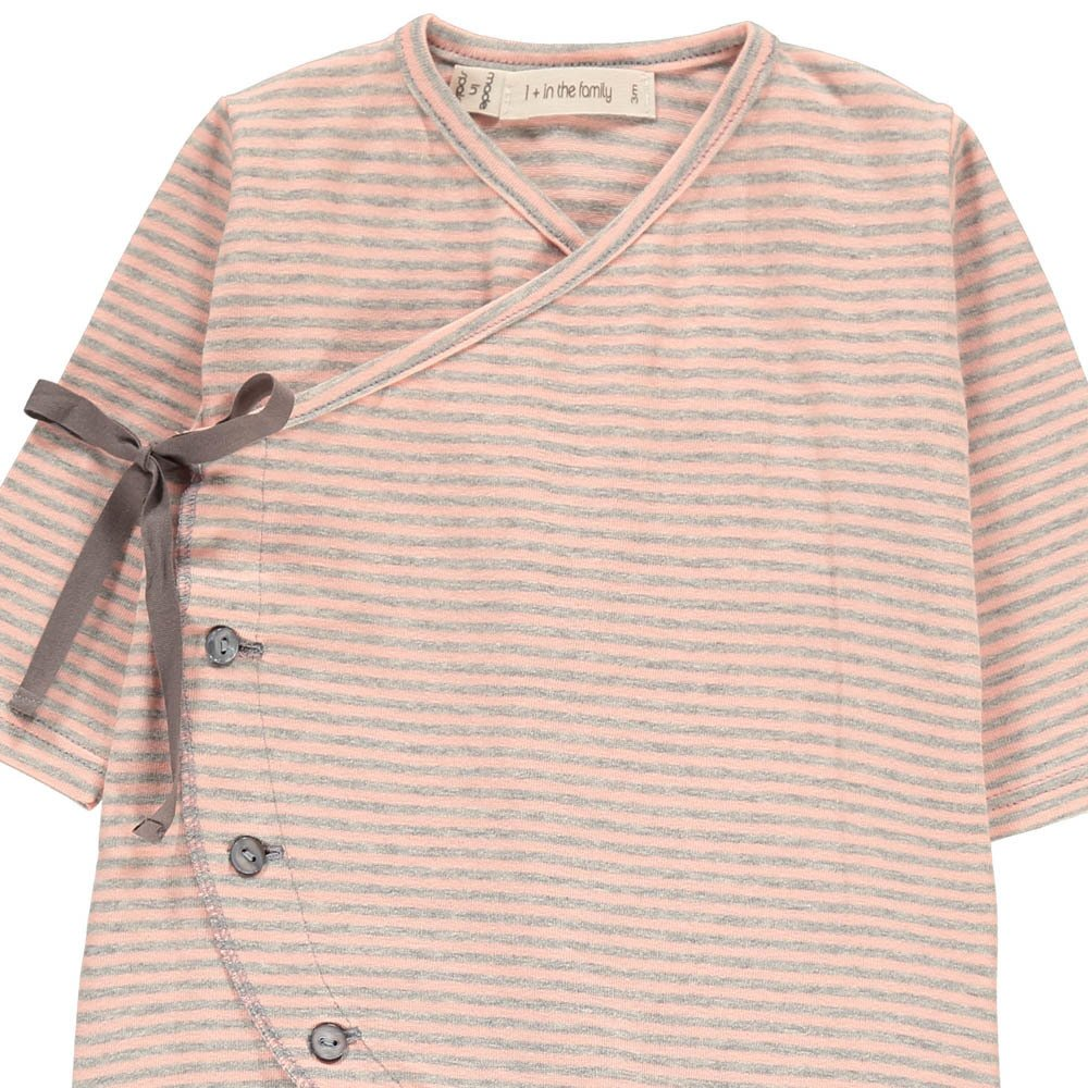 1+ IN THE FAMILY Adan Striped Fine Footed Pyjamas-product