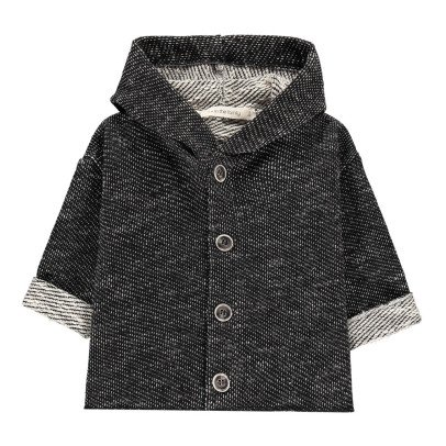 1+ IN THE FAMILY Veste Molleton Bicolore Daniel-listing