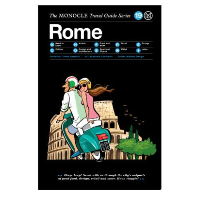 Monocle Reiseleitung Rom-listing