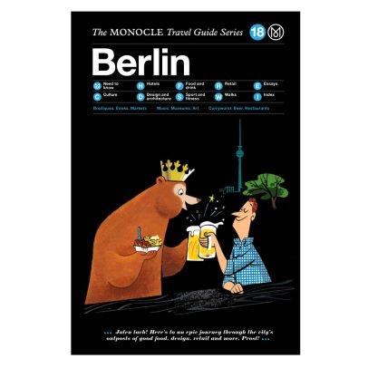 Monocle Reiseleitung Berlin-listing