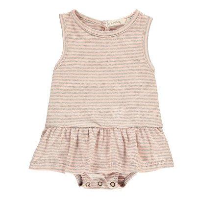1+ IN THE FAMILY Violeta Striped Fine Body Dress-product