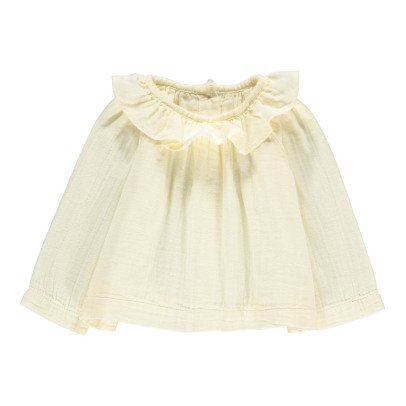 Poudre Organic Bluse aus Bio-Baumwolle -listing
