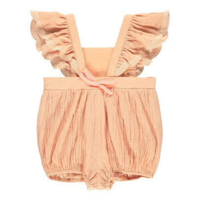 Louise Misha Céleste Embroidered Playsuit-product