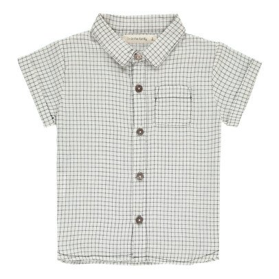 1+ IN THE FAMILY Diego Checked Shirt-product