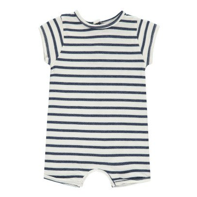 Louis Louise Toto Striped Playsuit-listing