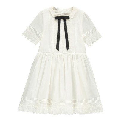 Les coyotes de Paris Gigi Riban Collar Embroidered Dress-listing
