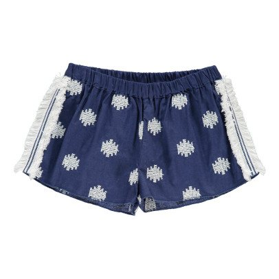 Douuod Playback Embroidered Shorts-product