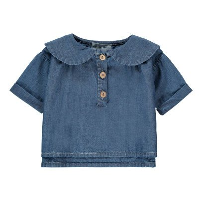 Yellowpelota Bluse Chambray -listing