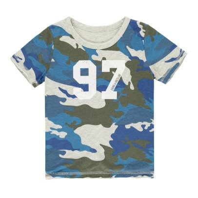 Zadig & Voltaire Joseph Reversible Camouflage T-Shirt-listing
