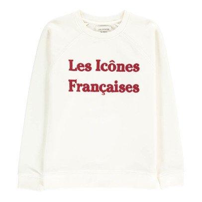 """Les coyotes de Paris Sweatshirt """"Les Icônes Françaises"""" Carole-listing"""