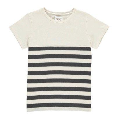 Douuod Gestreiftes T-Shirt Foyer-listing