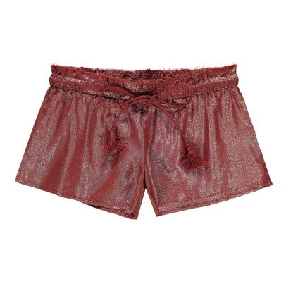 Polder Pretty Lurex Cotton Shorts-product