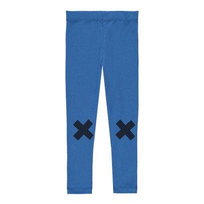 tinycottons Pantalon Sarouel Logo Croix Bleu-listing