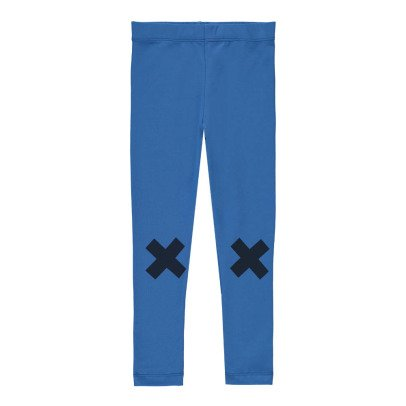 tinycottons Pantalon Sarouel Logo Croix Blue-product