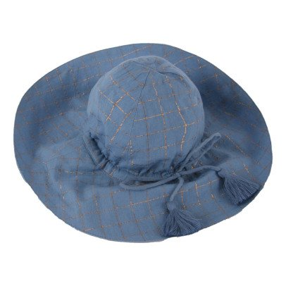 Louis Louise Colette Lurex Checked Hat-listing