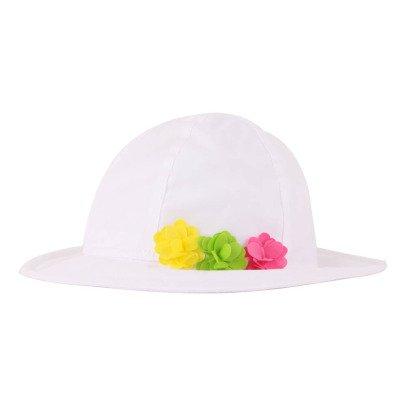 Il Gufo Floral Pompom Hat-listing