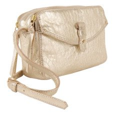 Petite Mendigote Braga Textured Leather Shoulder Pouch-listing