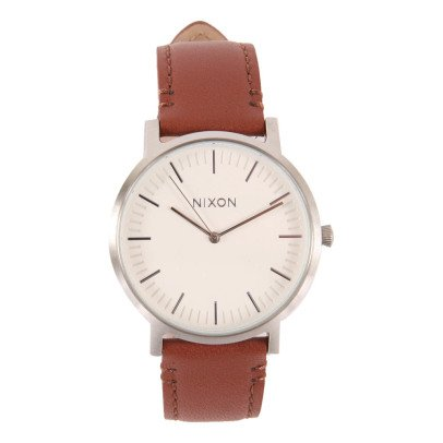 Nixon Porter Leather Watch 40mm-listing