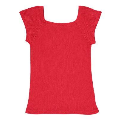 NICE THINGS MINI Camiseta Acanalada Cuello Cuadrado-listing