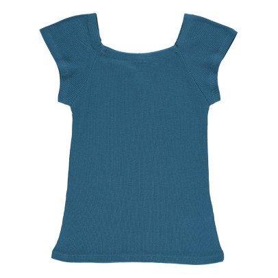 NICE THINGS MINI T-Shirt Costine Scollatura Quadrata-listing